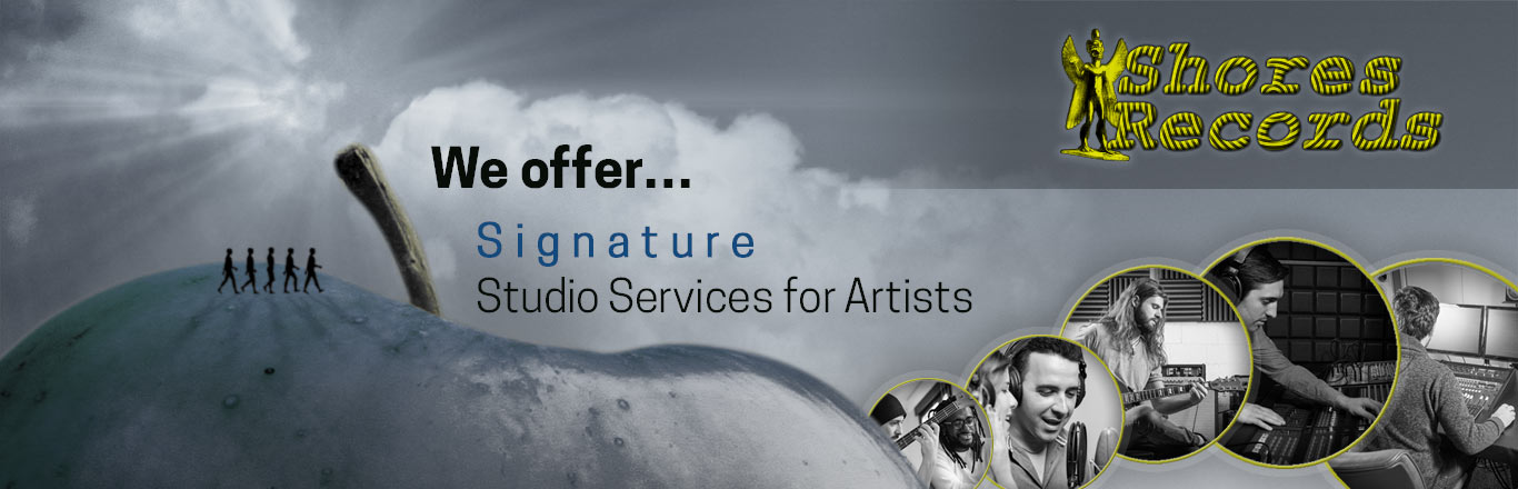 Shores Records offers signature studio services for artists.